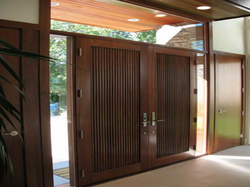 Modern Front Doors. Great Modern Front Doors With Side With Modern ...