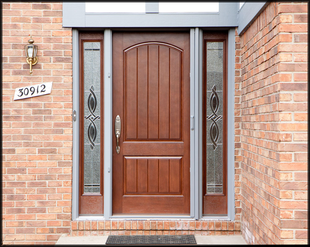 Custom doors kansas city exterior doors kc earthwoods for Entrance doors